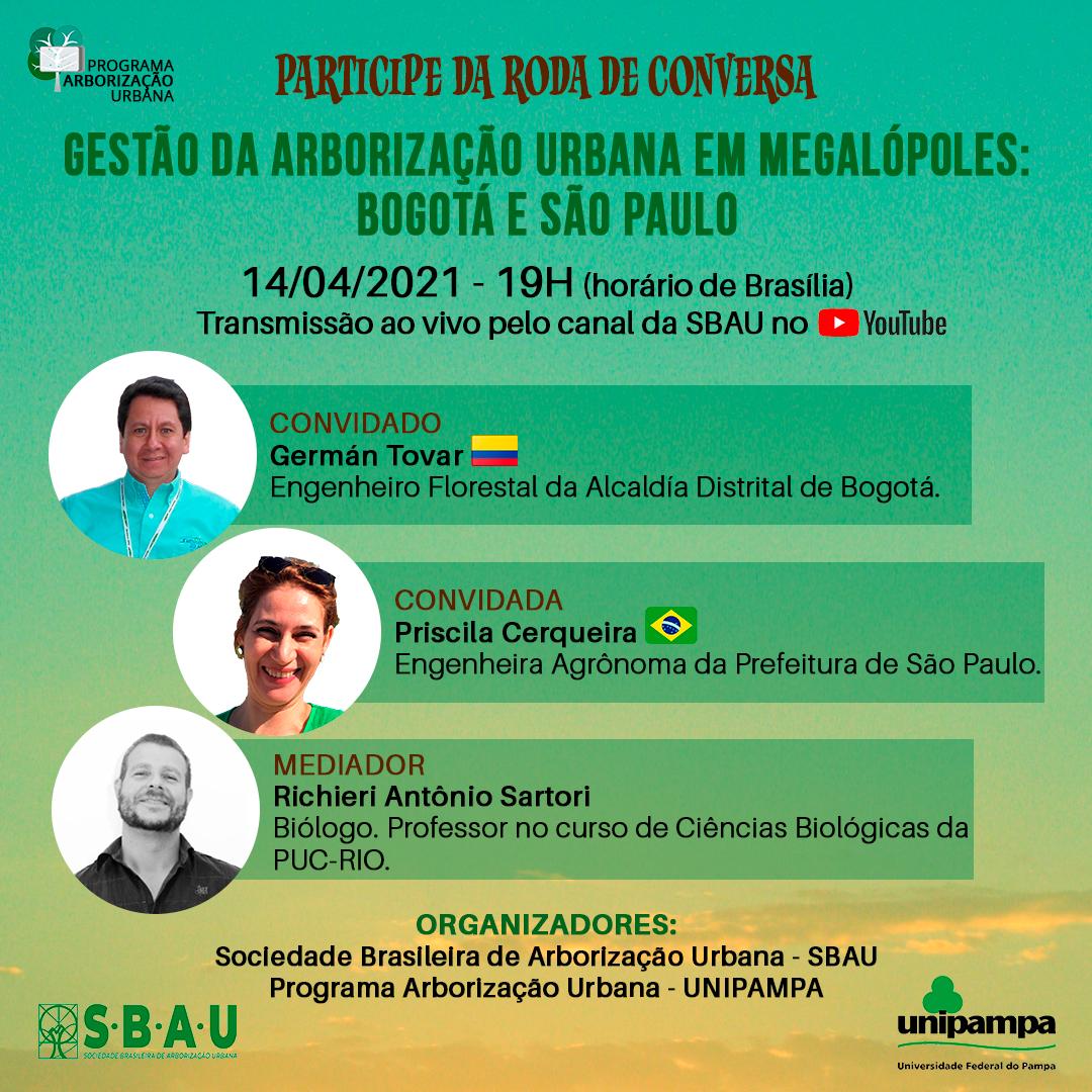 PRIMEIRA RODA DE CONVERSA DE 2021